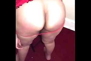 Indian desi housewife tied up belt banged and fucked with a cucumber in Ny