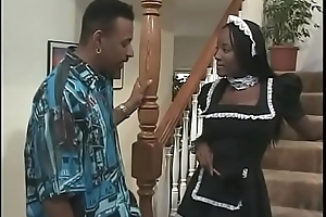 French maid gets fucked sisterly hard by will not hear of VIP