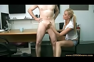 2807063 cfnm blonde babe jerking stay away from a flannel