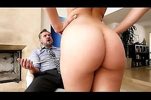 BANGBROS - PAWG Step Daughter Aidra Fox Takes Control Be worthwhile for Daddy
