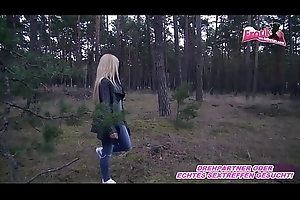 Whilom before Freundin anal im Wald POV - german girlfriend legal age teenager anal outdoor a2m