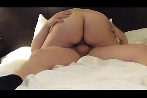 GF rides me for a creampie fulfilling