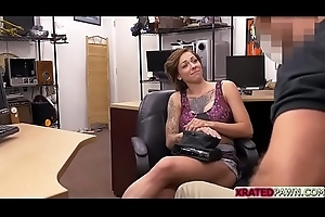 Busty tattooed slut Harlow Harrison acquires fucked for cash