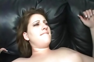 Chubby Wife Takes BBC First of all Couch