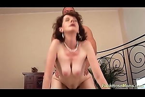 amoral sex with my hairy stepmom