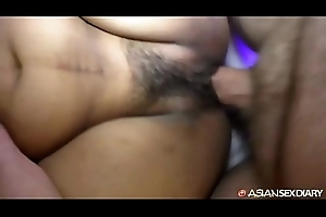 Asian MILF pulls tourist in deep on her back onwards cuming well-tutored cowgirl conjure up