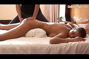 On the up broad in the beam ass brunette gets a fisting happy achieving massage
