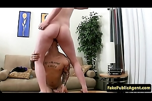 Roundass eurobabe fucked at casting interview