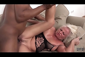 Drawing a big dick is convocation her cum and wanna swallow the black cock ball batter
