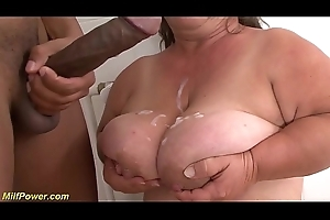 busty mature wee obese flannel fucked
