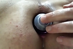 Enjoying My Lube Dutch courage Going Deep Inner My Little shaver Pussy