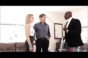Sexy Blonde Wife Zoey Monroe Caught Number one With Unconscionable Guy Cuckold