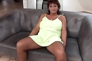 Divorced ma takes a young cock