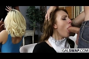 Tasty Gals Alyce And Kimberly Swap Their Dads
