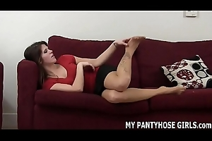 Are you getting addicted me to in my pantyhose JOI