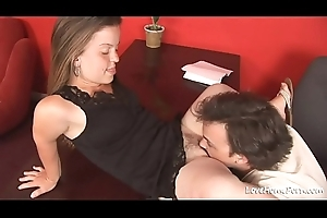 Hot midget chick is abnormal and loves riding